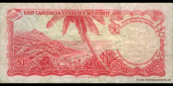 St Vincent et les Grenadines - p13o - 1 Dollar - ND (1965) - East Caribbean Currency Authority