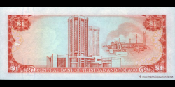 Trinidad et Tobago - p36d - 1 Dollar - Chap. 79.02 - Central Bank of Trinidad and Tobago