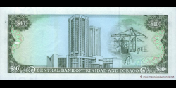 Trinidad et Tobago - p38c - 10 Dollars - Chap. 79.02 - Central Bank of Trinidad and Tobago