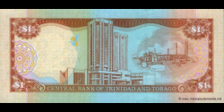 Trinidad et Tobago - p41b - 1 Dollar - 2002 - Central Bank of Trinidad and Tobago