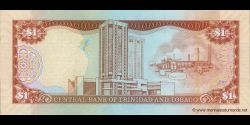 Trinidad et Tobago - p46a - 1 Dollar - 2006 - Central Bank of Trinidad and Tobago