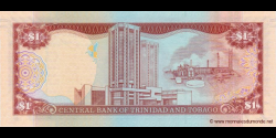 Trinidad et Tobago - p46b - 1 Dollar - 2006 - Central Bank of Trinidad and Tobago