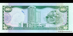 Trinidad et Tobago - p47 - 5 Dollars - 2006 - Central Bank of Trinidad and Tobago