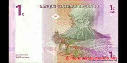 Congo - RD - p080 - 1 centime - 01.11.1997 - Banque Centrale du Congo