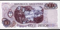 Argentine - p300 - 10 Pesos - ND (1976) - Banco Central de la República Argentina