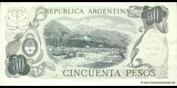 Argentine - p301a(2) - 50 Pesos - ND (1976 - 1978) - Banco Central de la República Argentina