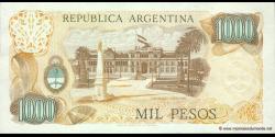 Argentine - p304b(1) - 1.000 Pesos - ND (1976 - 1983) - Banco Central de la República Argentina