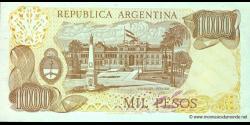 Argentine - p304d(2) - 1.000 Pesos - ND (1976 - 1983) - Banco Central de la República Argentina