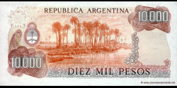 Argentine - p306b - 10.000 Pesos - ND (1976 - 1983) - Banco Central de la República Argentina