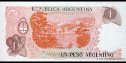 Argentine - p311a(1) - 1 Peso Argentino - ND (1983 - 1984) - Banco Central de la República Argentina