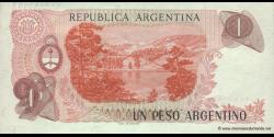 Argentine - p311a(2) - 1 Peso Argentino - ND (1983 - 1984) - Banco Central de la República Argentina