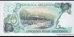 Argentine - p314a(2) - 50 Pesos Argentinos - ND (1983 - 1985) - Banco Central de la República Argentina