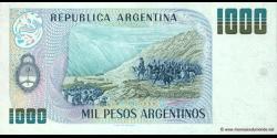 Argentine - p317b - 1.000 Pesos Argentinos - ND (1983 - 1985) - Banco Central de la República Argentina
