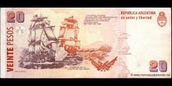 Argentine - p355(3) - 10 Pesos - ND (2003) - Banco Central de la República Argentina