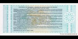 Argentine - pS2711ba - 1 Austral - redemption date - 30.11.1991 - Provincia de Tucumán