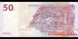 Congo - RD - p091 - 50 francs - 04.01.2000 - Banque Centrale du Congo