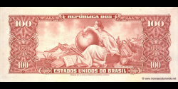 Brésil - p185a - 10 Centavos - ND (1966 - 1967) - Republica dos Estados Unidos do Brasil, Banco Central do Brasil