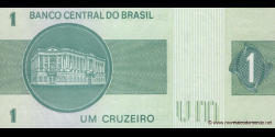 Brésil - p191Ac - 1 Cruzeiro - ND (1980) - Banco Central do Brasil
