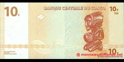 Congo - RD - p093 - 10 francs - 30.06.2003 - Banque Centrale du Congo