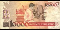 Brésil - p218a - 10 Cruzados Novos - ND (1989) - Banco Central do Brasil