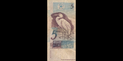 Brésil - p244Aa - 5 Reais - ND (1997) - Banco Central do Brasil