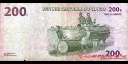 Congo - RD - p095 - 200 francs - 30.06.2000 - Banque Centrale du Congo
