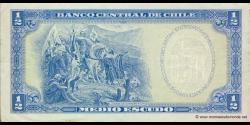 Chili - p134Aa - ½ Escudo - ND (1962 - 1975) - Banco Central de Chile