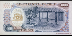 Chili - p146b - 1.000 Escudos - ND (1967 - 1975) - Banco Central de Chile