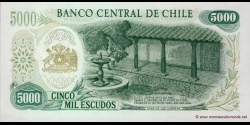 Chili - p147b1 - 5.000 Escudos - ND (1967 - 1975) - Banco Central de Chile