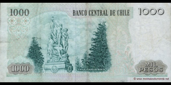Chili - p154g - 1.000 Pesos - 2006 - Banco Central de Chile