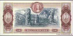 Colombie - p407h - 10 Pesos oro - 07.08.1980 - Banco de la República