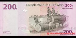 Congo - RD - p099 - 200 francs - 31.07.2007 - Banque Centrale du Congo