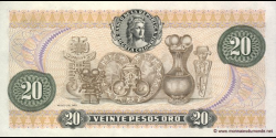 Colombie - p409d - 20 Pesos oro - 01.01.1981 - Banco de la República