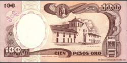 Colombie - p426e - 100 Pesos oro - 01.01.1990 - Banco de la República