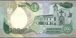 Colombie - p429a - 200 Pesos oro - 20.07.1984 - Banco de la República