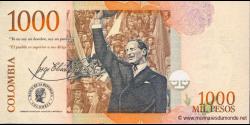 Colombie - p456g - 1.000 Pesos - 13.08.2007 - Banco de la República