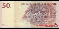 Congo - RD - p097 - 50 francs - 31.07.2007 - Banque Centrale du Congo