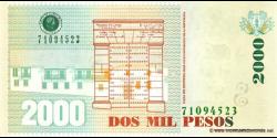 Colombie - p457e - 2.000 Pesos - 14.11.2006 - Banco de la República