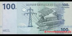 Congo - RD - p098 - 100 francs - 31.07.2007 - Banque Centrale du Congo