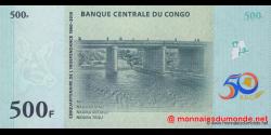 Congo - RD - p100 - 500 francs - 30.06.2010 - Banque Centrale du Congo