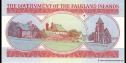 Malouines - p17 - 5 Pounds - 14.06.2005 - The Government of the Falkand Islands