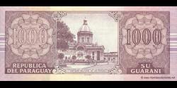 Paraguay - p222a - 1.000 Guaranies - 2004 - Banco Central Del Paraguay