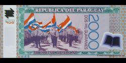 Paraguay - p228b - 2.000 Guaranies - 2009 - Banco Central Del Paraguay