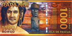 Paques - pNL2 - 1.000 Rongo - 2011 - Rapa Nui, Isla de Pascua - Easter Island