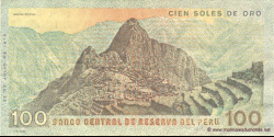 Pérou - p114 - 1.000 Soles de oro - 22.07.1976 - Banco Central de Reserva del Perú