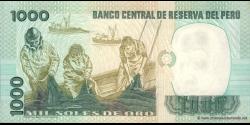 Pérou - p122 - 1.000 Soles de oro - 05.11.1981 - Banco Central de Reserva del Perú