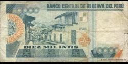 Pérou - p141 - 10.000 Intis - 28.06.1988 - Banco Central de Reserva del Perú