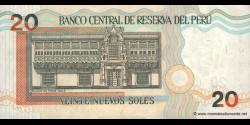 Pérou - p176b - 20 Nuevos Soles - 28.10.2004 - Banco Central de Reserva del Perú