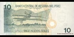 Pérou - p179b - 10 Nuevos Soles - 21.12.2006 - Banco Central de Reserva del Perú