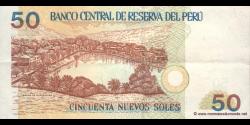 Pérou - p180a - 50 Nuevos Soles - 11.08.2005 - Banco Central de Reserva del Perú